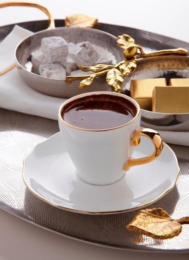 Koleksiyon Koleksiyon Poem Türk Kahvesi St 6'lı Altın Renkli
